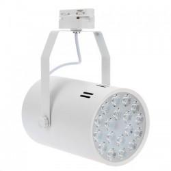 Spot LED Magazin 18x1W Alb