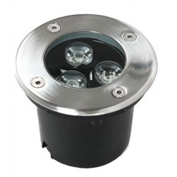 Spot LED Exterior 3x1W Incastrabil