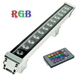 Proiector LED 12W Liniar 50cm RGB