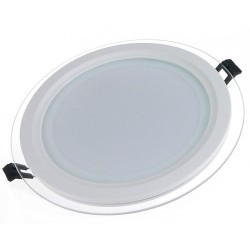 Spot LED 6W Rotund Mat Sticla
