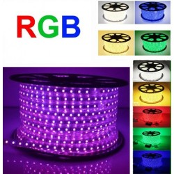 Banda LED 5050 60 SMD/ML RGB 220V