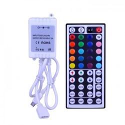 Controller RGB 6A 72W 44 Taste IR