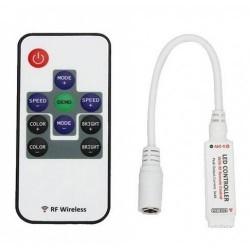 Mini Controller RGB 12A 144W 10 Taste RF