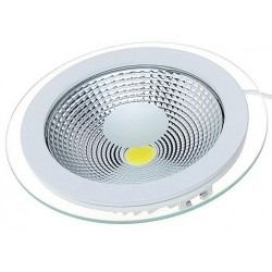 Spot LED 10W Rotund COB Sticla