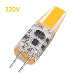 Bec LED G4 5W 220V COB Silicon