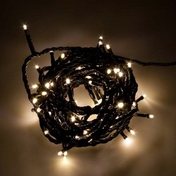 Instalatie Pom Craciun 300 LED-uri Diverse Culori Fir Negru