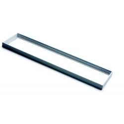 Rama Panou LED 120x30cm Argintie