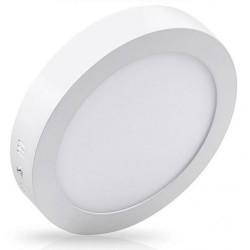 Spot LED 18W Rotund Alb Aplicat