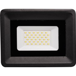 Proiector LED 50W 220V Slim Negru SMD