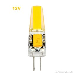 Bec LED G4 2W 12V COB Silicon