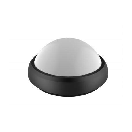 Aplica LED 8W Rotunda Negru Exterior