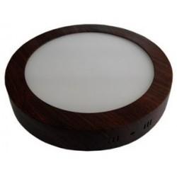 Spot LED 24W Rotund Aplicat Wenge