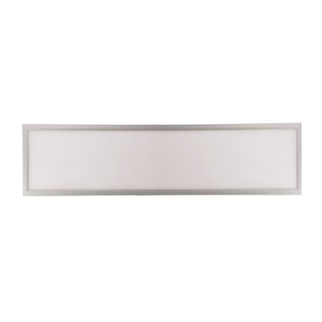 Panou LED 48W 120x30cm Aplicat Argintiu