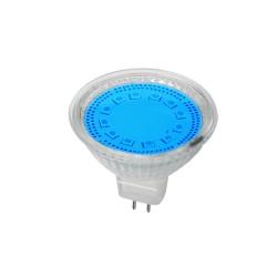Bec Spot LED MR16 3W Albastru 12V
