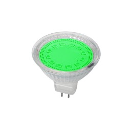 Bec Spot LED MR16 3W Verde 12V