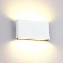 Aplica LED 2x6W Alb Exterior