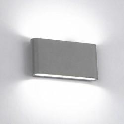 Aplica LED 2x6W Gri Exterior