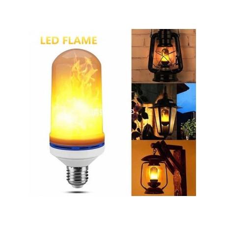 Bec LED E27 5W Flacara