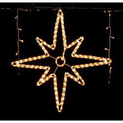 Decoratiune Steluta LED 12W 80cm