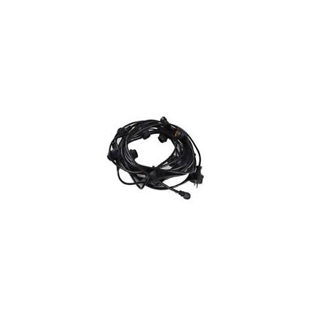 Cablu Ghirlanda 12xE27 Exterior 10m