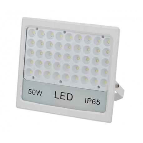 Proiector LED 50W SLIM ALB