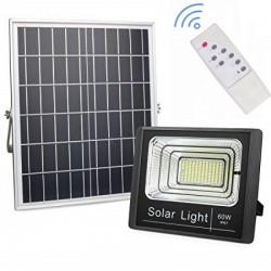 Proiector LED 60W cu Panou Solar si Telecomanda