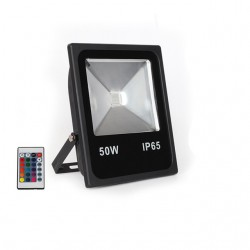 Proiector LED 50W Slim RGB