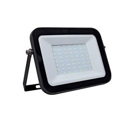 Proiector LED 50W Ultraslim Negru