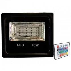 Proiector LED 20W Slim SMD RGB