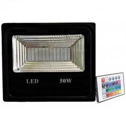 Proiector LED 50W Slim SMD RGB