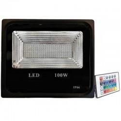 Proiector LED 100W Slim SMD RGB