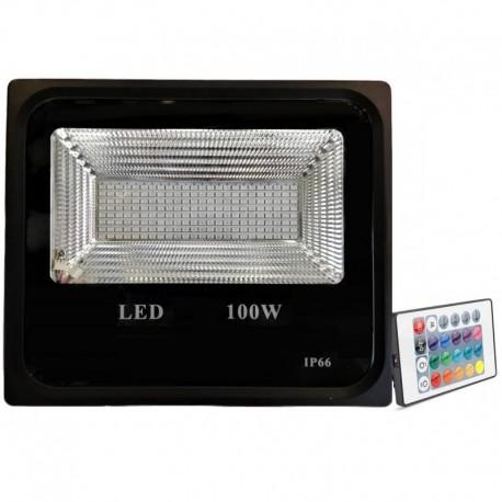 Proiector LED 10W Slim SMD RGB