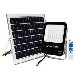 Proiector LED 100W cu Panou Solar si Telecomanda Multiled