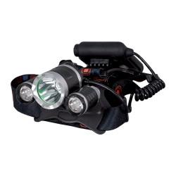 Lanterna Frontala E-3396 1xXML T6 + 2xCREE XPE