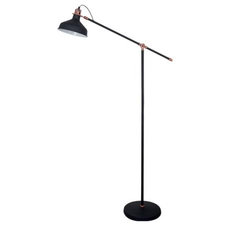 Lampadar John 1XE27 Negru 150cm