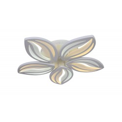 Lustra LED 100W Flower cu Telecomanda 3 Functii