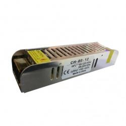 Sursa Alimentare Banda LED Slim 80W 12V Metal
