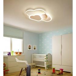 Lustra LED Cloud pentru Copii  50W cu 3 Functii