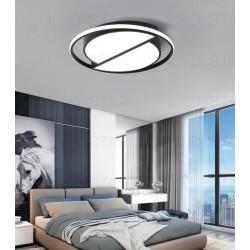 Lustra LED 130W Rotunda Cu Telecomanda 3 Functii