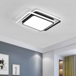 Lustra LED 130W Patrata Cu Telecomanda 3 Functii