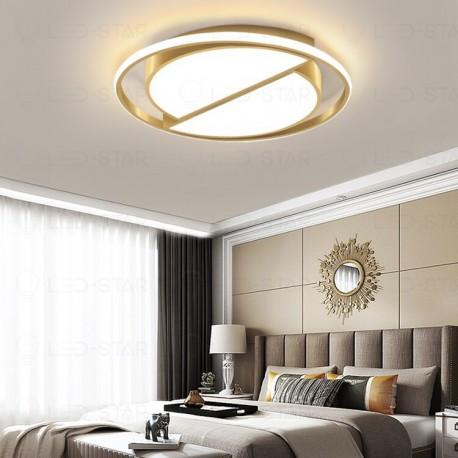 Lustra LED 130W Round GOLD 3 Functii