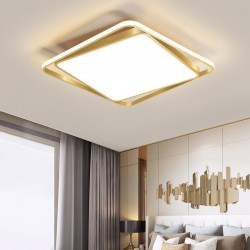 Lustra LED 130W Square GOLD 3 Functii