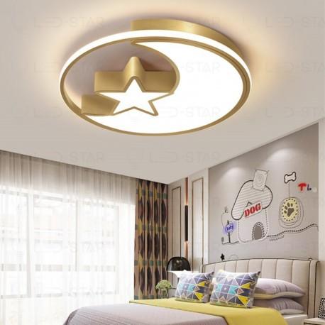 Lustra LED 130W MOON&STAR GOLD 3 Functii