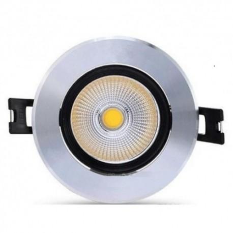 Spot LED 3W Rotund Mobil Negru-Argintiu