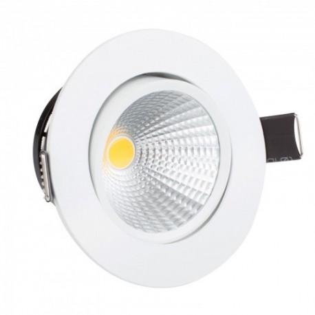 Spot LED 3W Rotund Mobil Alb