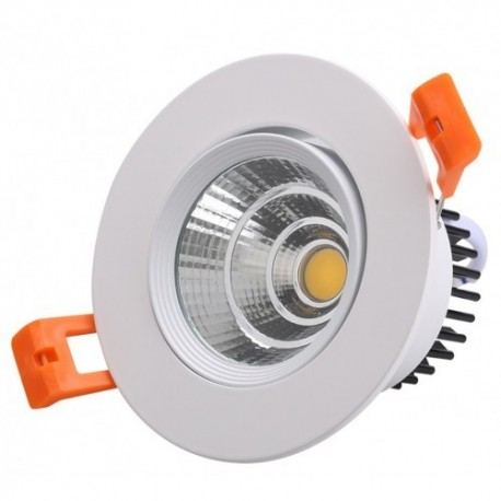 Spot LED 5W Rotund Mobil Alb Oglinda