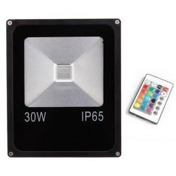 Proiector LED 30W Slim RGB