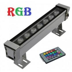 Proiector LED 12W Liniar 30cm RGB