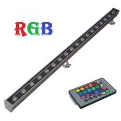 Proiector LED 24W Liniar 100cm RGB