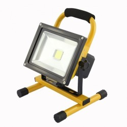 Proiector LED 10W Acumulator si Suport